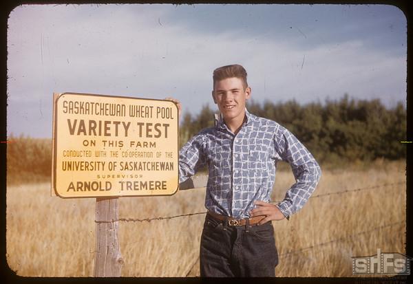 Arnold Tremere's test plot.  Scotsguard.  08/31/1955