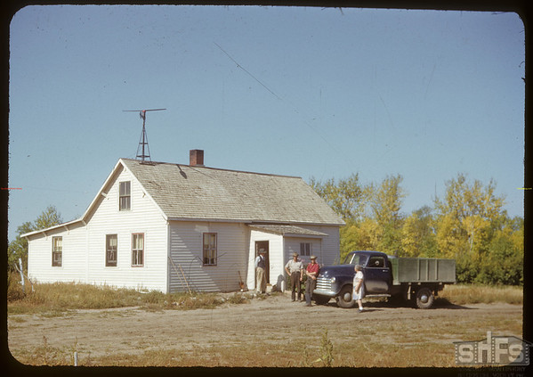 Alf. Spencer home.  South Fork.  09/20/1950