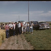 District 3 - test plot gang at Experimental Farm.  Swift Current.  08/05/1957