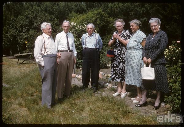 Buckley's - Kylund's and Ruth Baker..  Shaunavon.  07/01/1957