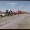 Machinery row - Shaunavon fair.  Shaunavon.  07/26/1950