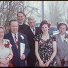 Sandburn - Duncan wedding party.  Shaunavon.  03/27/1954