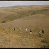 Eastend Boy Scouts. Carry Tipi Poles.  South Fork.  08/24/1957