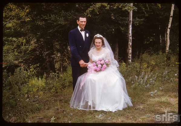 Wedding.  South Fork.  09/07/1952