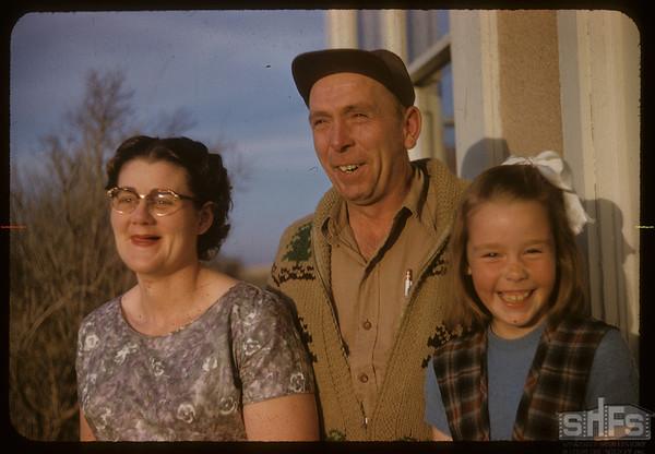 Howard & Wilma & Brenda Williamson.  Scotsguard.  05/01/1958