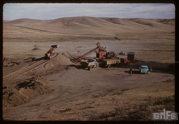 Le Rose gravel pit.  South Fork.  10/03/1958