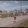 Shaunavon rodeo - Cabri band at ease.  Shaunavon.  07/23/1957