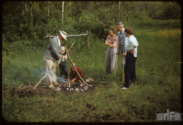 Pail Ganley's Fire for Coffee.  South Fork.  07/26/1953