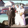 Patterson - Johnson wedding party.  Shaunavon.  04/06/1955
