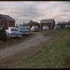 Test plot supervisors  visit Dick Robbins farm.  Shaunavon.  07/27/1956