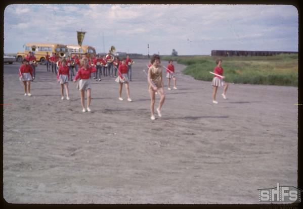 Cabri majorettes.  Shaunavon.  07/18/1963