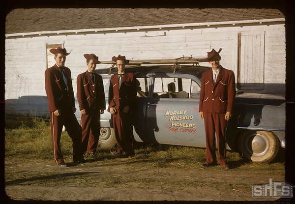 Norley Kolskog Boys [Musical Group]. Shaunavon. 07/17/1955