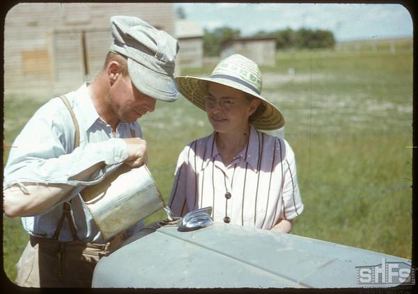 Mr & Mrs Harold Simpson.  Shaunavon.  07/18/1950