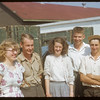 Co-op school students from Subd. # 1 District III - Isobel Stengler - Morley Collins - Margaret Armistead - Regis Dion and Vaughn Hiltz.  Swift Current.  07/10/1953