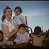 Mrs. Kenny Edwards and children.  Scotsguard.  05/01/1958