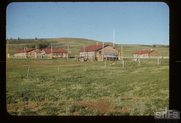 Rebuilt Fort Walsh from NW. Fort Walsh. 06/14/1953