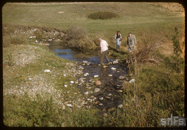 Keith & William Suhterland of Saskatoon..  South Fork.  05/19/1957