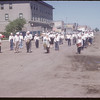 Shaunavon Band - fair parade.  Shaunavon.  07/20/1954