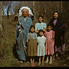 Johnny LeCaine and family. Wood Mountain. 05/20/1950