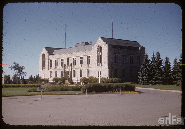 Physics Building - U of S. Saskatoon 09/11/1955