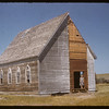 Dunkard Brethern Church on Melvin Ziegler's property.  Vidora (Oxarat).  08/14/1956