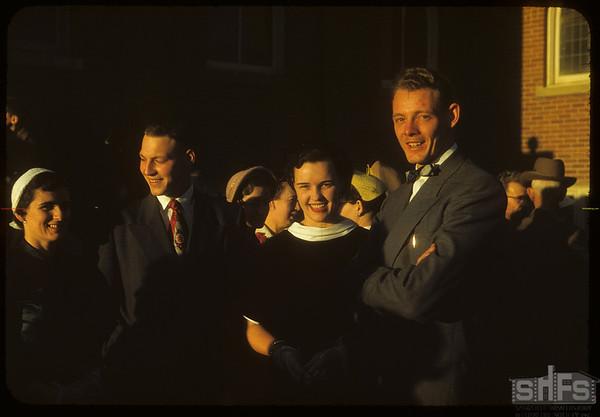 Hossie - McKercher wedding.  Shaunavon.  10/16/1954