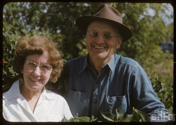 Mr & Mrs Henry Johnson.  Scotsguard.  09/11/1951
