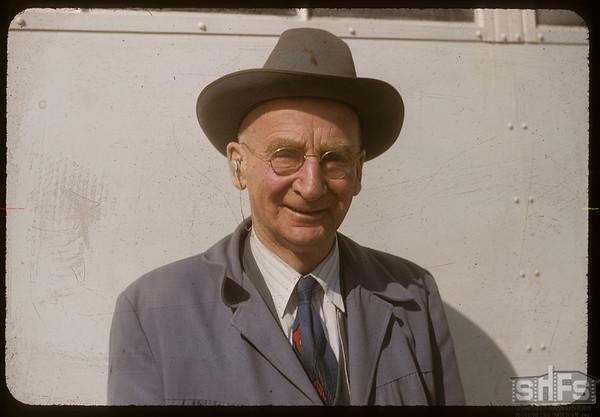 George Sherwood - Western Development Museum.  Yorkton.  09/08/1956