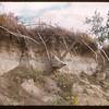 Peter Pond site - bank breaking away..  Prince Albert.  09/15/1956