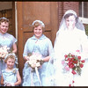 Neidig - Lind wedding - bride's maids.  Shaunavon.  05/26/1956