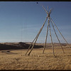 Indian Tepee rings.  South Fork.  10/28/1958