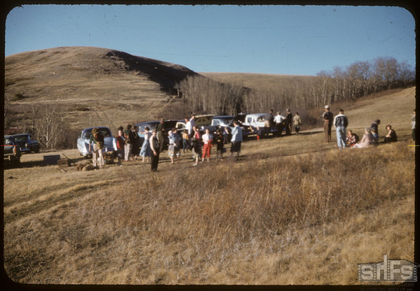 E. Scouts Breaking Camp.  South Fork.  04/30/1957