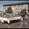 Jubilee Fair Parade - Agriculture Society float.  Shaunavon.  07/26/1955