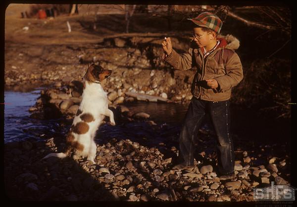 R. Grobowski & Sport.  South Fork.  11/02/1950