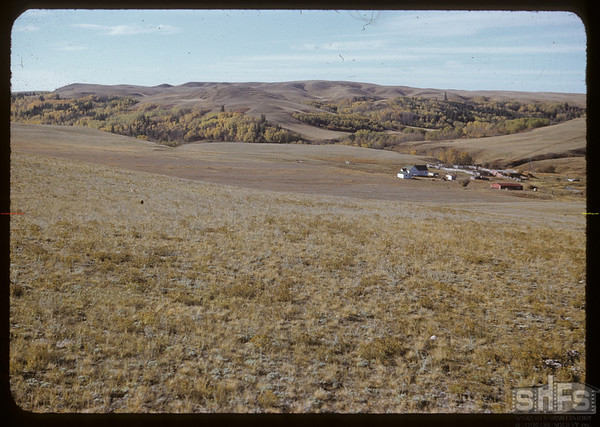 Smith Bros ranch from NE.  South Fork.  10/07/1951