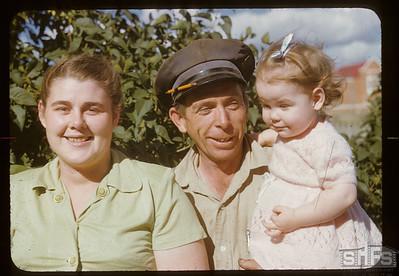Howard & Wilma & Brenda Williamson, Admiral,  09/11/1951