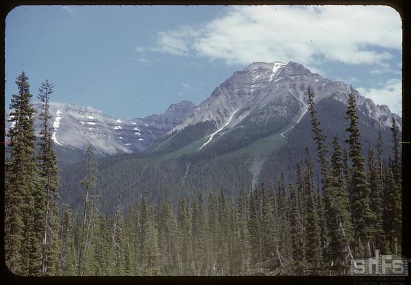 Mt. Eisenhauer..  Banff.  07/28/1951