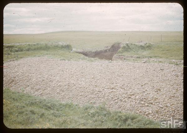 Stone wash near Antelope Lake School.  Stone P.O..  06/16/1952