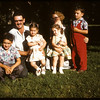 Ken Edwards family in Shaunavon Park..  Scotsguard.  08/27/1959