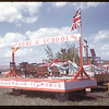 Home and school jubilee float.  Val Marie.  06/06/1955