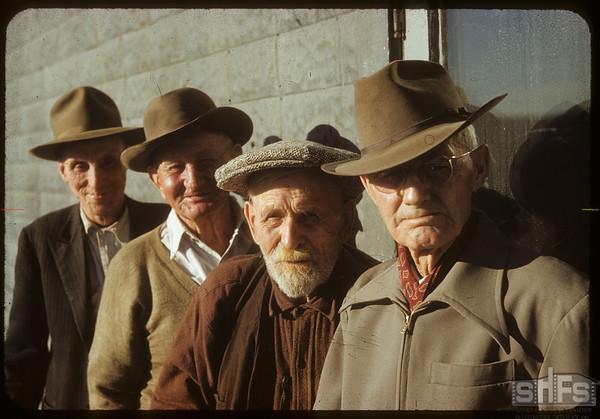 """Riders of the Open Range - Last Days of NWT."" - Ben Rose - 'Tib' Moodie - Buck Hardin and Harry Otterson.  Shaunavon.  04/21/1952"