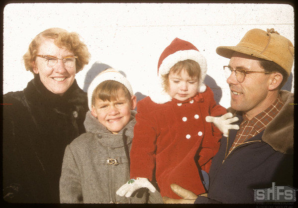 Steve Hanson family..  Shaunavon.  12/31/1955