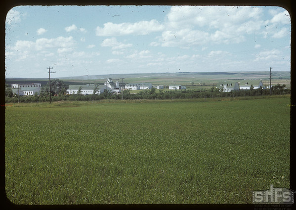 Dominin Experimental farm from S.E..  Swift Current.  07/10/1953
