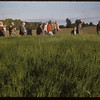 Test plot people at R. P. Robbins farm.  Shaunavon.  07/27/1956