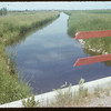 Irrigation canal from Duncairn Dam.  Swift Current.  07/08/1954