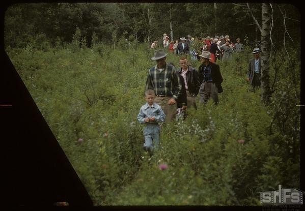 Test Plot Picnic. Pine Cree Park.  South Fork.  07/27/1956