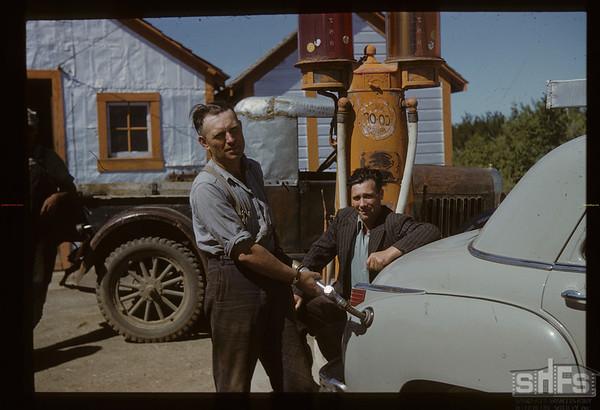 Kincaid Co-op. Henry Schwab & Harold McIlroy. Kincaid.  08/09/1950