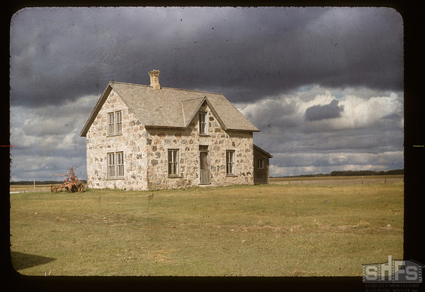 Stable man's house. Cannington Manor. 09/05/1956