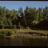 Swift Current park beyond swimming pool.  Swift Current.  07/05/1950