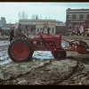 Moving pumping engine from place to place during flood.  Eastend.  04/18/1952